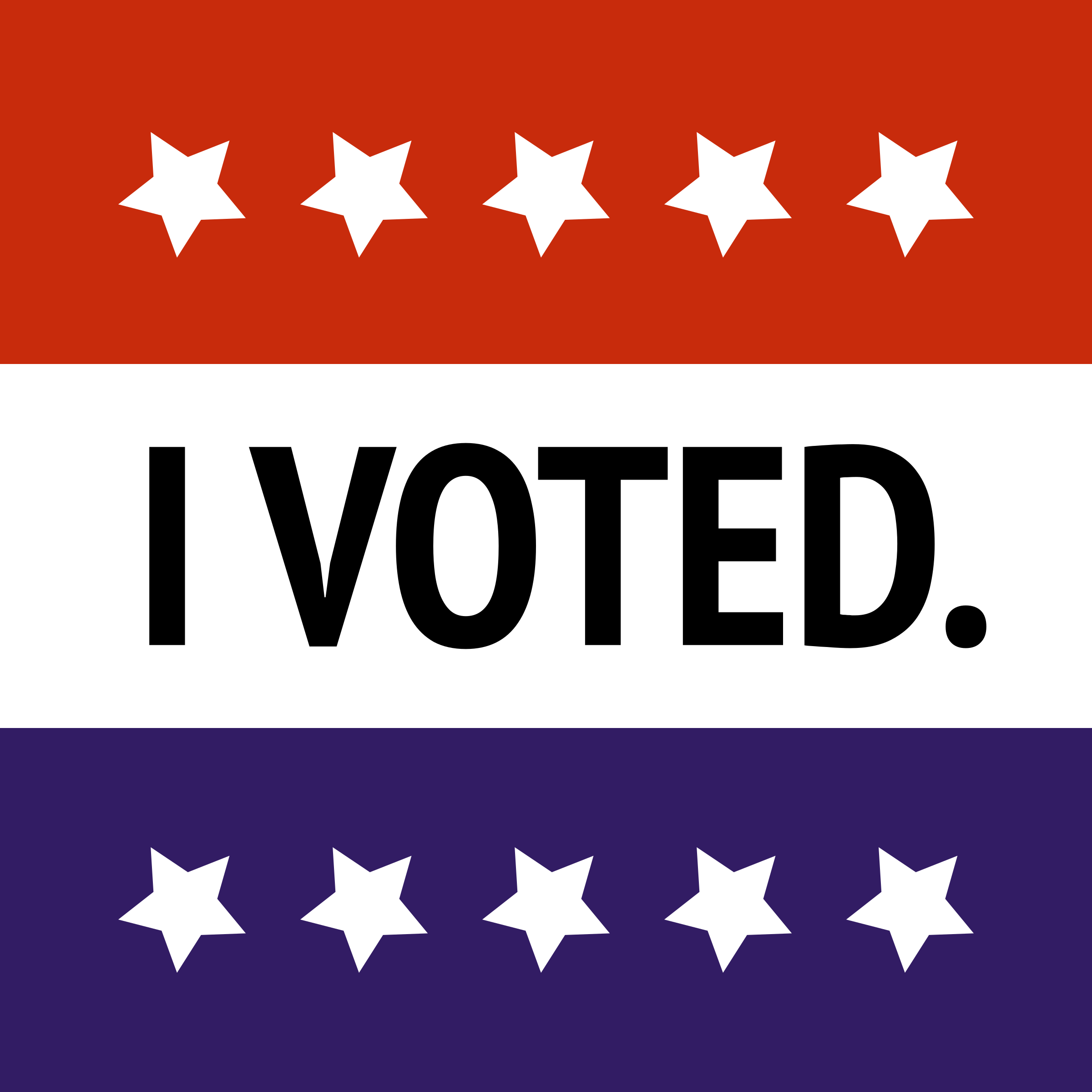 I Voted. by jonphillips