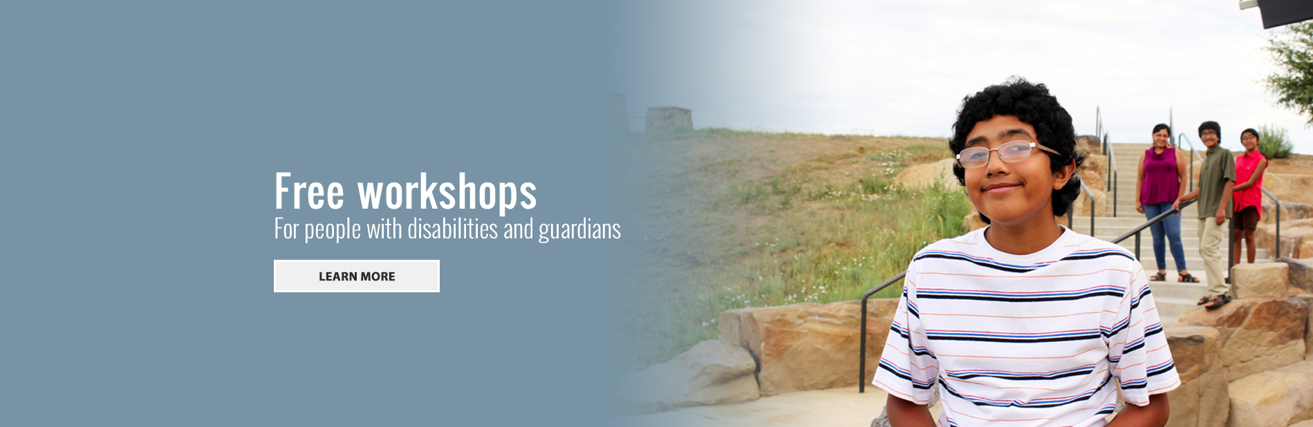 Website Workshop Banner