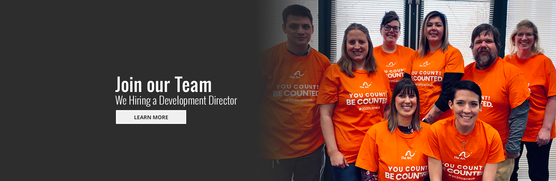 Join Our Team - We're Hiring A Development Director - Learn More