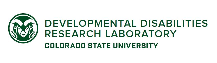 Colorado State University - Developmental Disabilities Research Laboratory - Logo